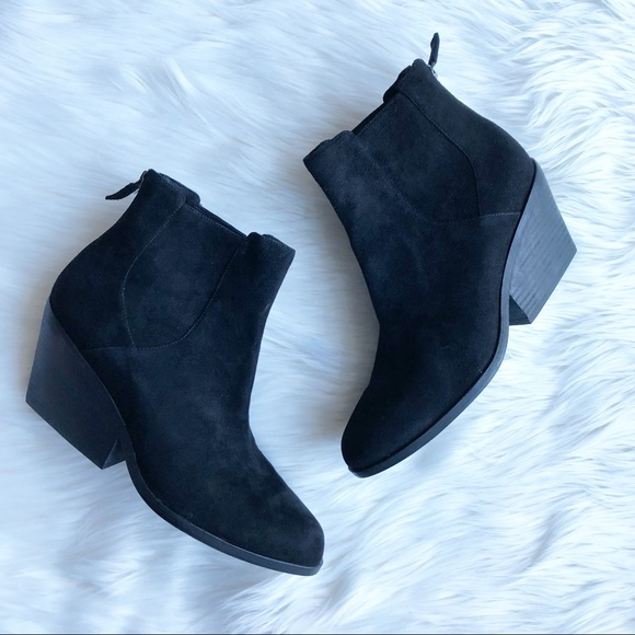 6dd4228a640c Eileen Fisher Shoes - ❗️SALE Eileen Fisher Black Suede Heeled Booties 9